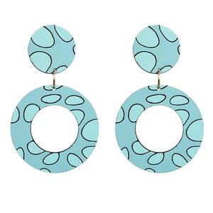 Joy Circle Earrings