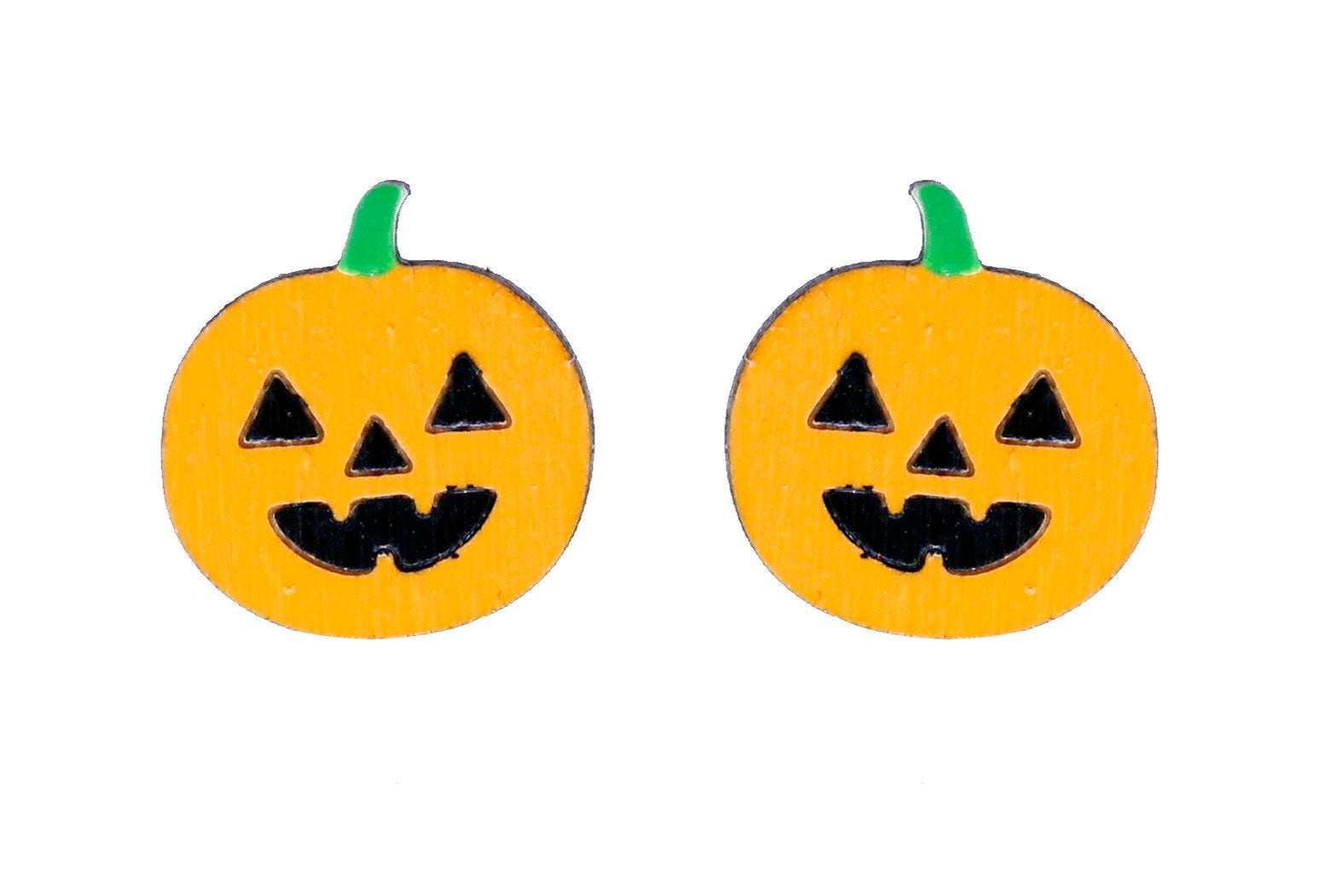 Pumpkin Stud Earrings