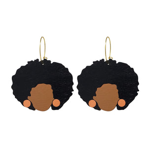 Shelley Hoop Earrings