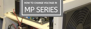 Changing Voltage on MP Series Ozone Generators