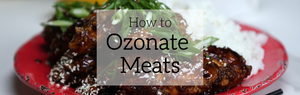 How to Ozonate Meats