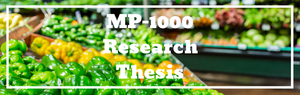 MP-1000 Ozone Generator Featured in Research Thesis