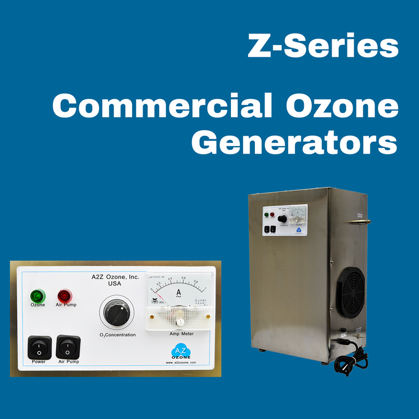 Z-Series - Commercial Ozone Generators | A2Z Ozone -- Available!