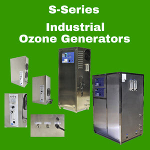 S-Series - Industrial Ozone Generators--Available!