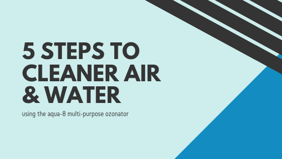 5 Steps to Cleaner Air and Water