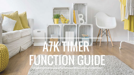 a7k timer function guide home odor
