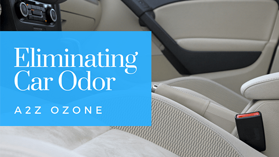 Eliminate Car Odor with Ozone Generator