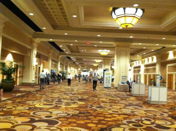 Picture of the Spa pool patio show hallway. It was actually fancier than it looks.