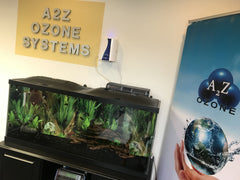 aqua-8 ozone generator cleaning fish tank water
