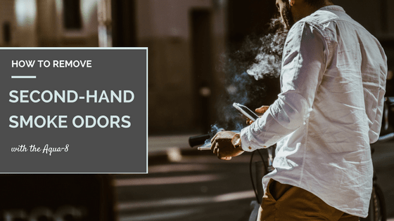 Remove Second Hand Smoke Odor with Ozone Generator