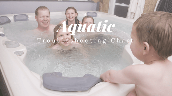 aquatic spa ozone generator troubleshooting chart