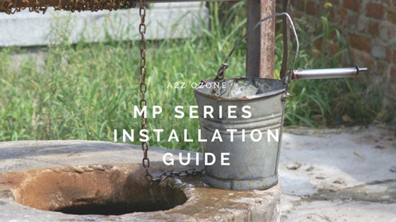 mp series ozone generator installation guide clean well water with ozone generator