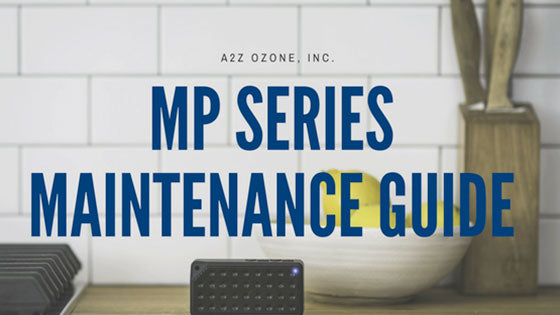 mp series multipurpose ozone generator maintenance guide