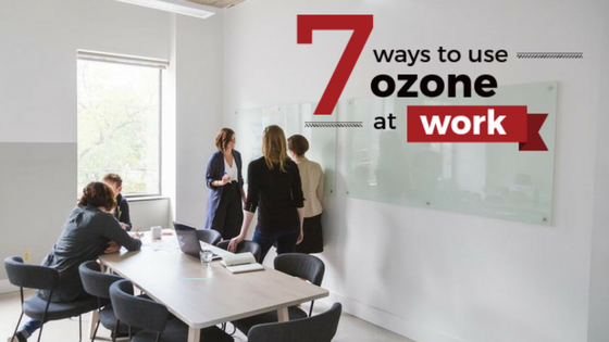 workplace uses of ozone generators