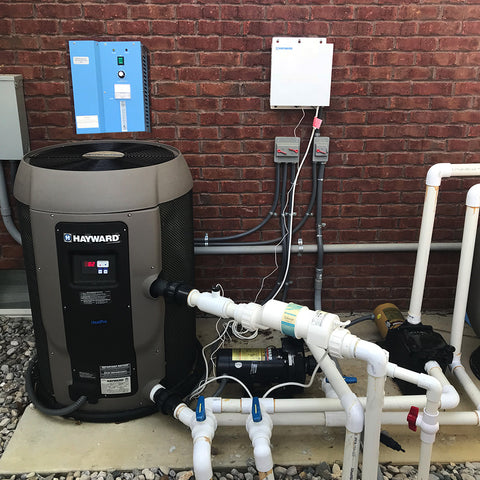 sp 3g swimming pool ozone generator set up