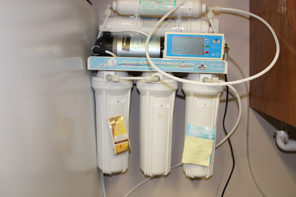 Reverse Osmosis Filtering System