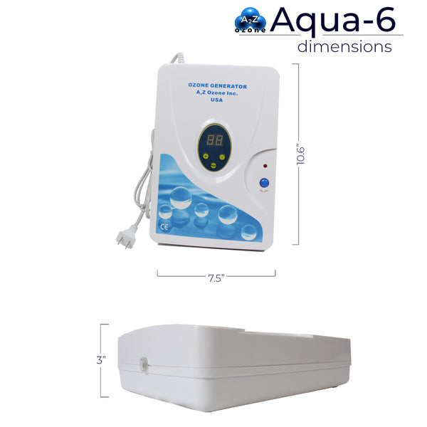 Aqua-6 Multi-Purpose Ozone Generator