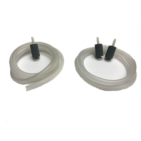 Aqua-8 Ozone Resistant Gray Oblong Diffuser Stone and Tubing Set