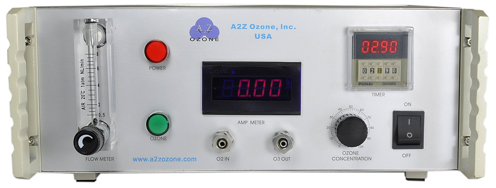 5G Lab Benchtop A2Z Ozone generator ozonolysis wastewater treatment research university hospital chemical