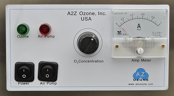 a2z z 10 g commercial ozone generator control panel