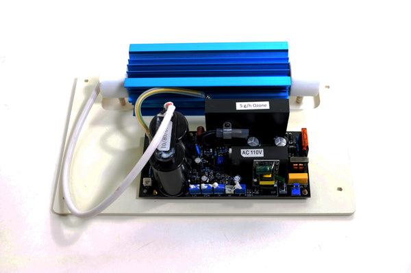 MP-5000 Ozone Generator Plate, Board, and Cell, Top View