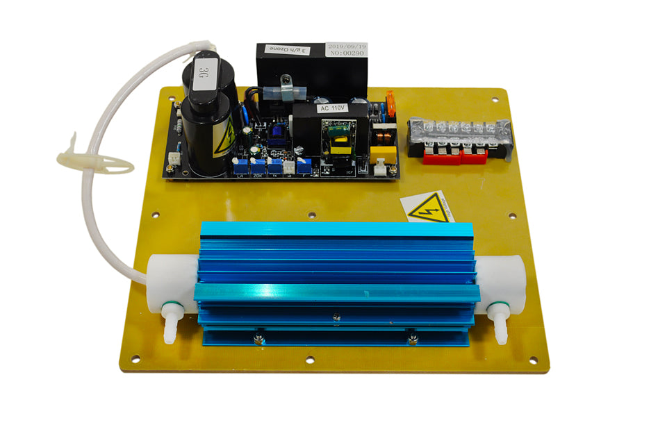 MP-3000 Ozone Generator Plate, Board, Cell, and Transformer, Front View