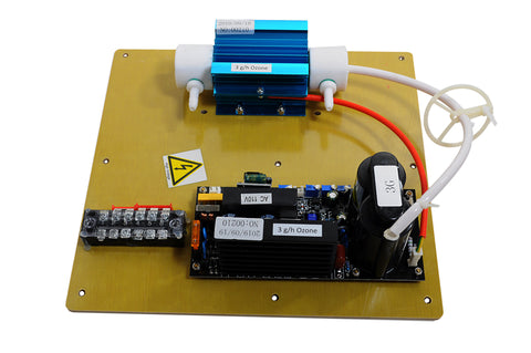 SP-3G Ozone Generator Plate, Board, Cell, and Transformer, Top View