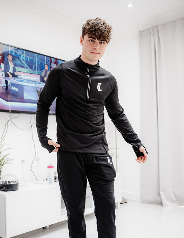 FARO LONDON TRACK PANTS - BLACK