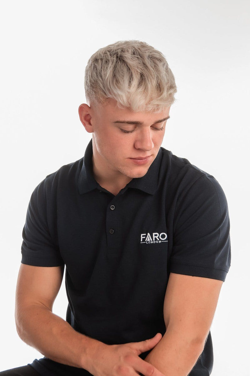 FARO LONDON POLO SHIRT - NAVY