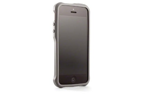 Element Ion 5 Case for iPhone 5/5S - Retail Packaging - Gray with Carbon Fiber