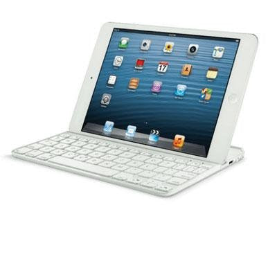 Logitech - Ultrathin Keyboard Mini White