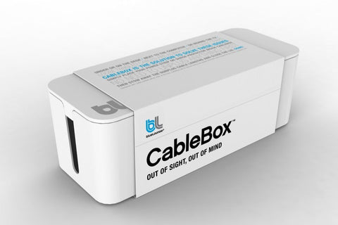 Bluelounge CableBox White - Cable Management