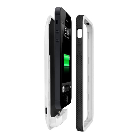 Belkin Grip Power Battery Case for iPhone 5 (White)