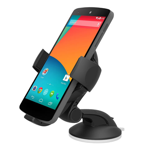 iOttie Easy Flex Wireless Qi Standard Car Mount Charger for Google Nexus 5/4, LG G3, G2, Nokia Lumia 928/920, Motorola Droid MAXX/MINI, HTC Droid DNA/8X and Other Qi- Enabled Smartphones