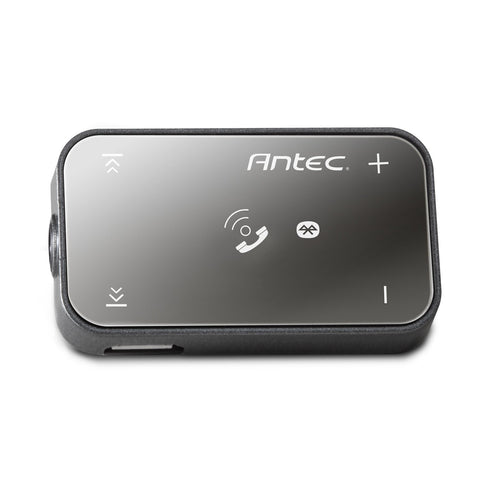 Antec Mobile Bluetooth with In/Out Call Audio Receiver and Headset (Gray)