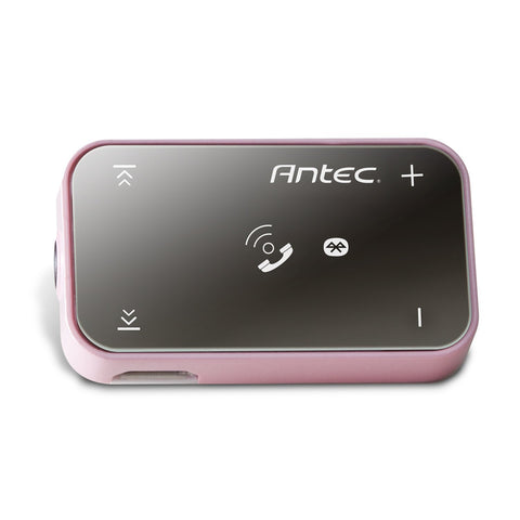 Antec Mobile Bluetooth with In/Out Call Audio Receiver and Headset (Pink)