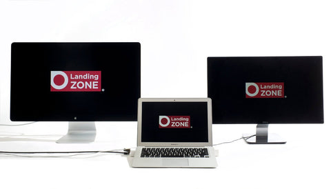 "LandingZone 2.0 PRO 13"" Secure Docking Station for MacBook Air Model A1466 Released 2012 - 2014"