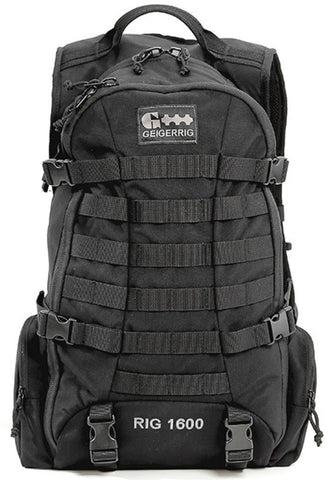 GEIGERRIG Tactical Hydration Pack Rig 1600, Black