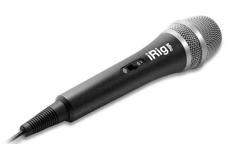 IK Multimedia iRig Mic for iPhone/iPod Touch/iPad and Android devices (Discontinued by Manufacturer)