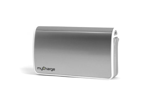 myCharge Hub 9000 Power Bank, RFAM-0234 (Silver)