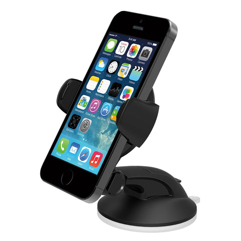 iOttie Easy Flex 3 Car Mount Holder Desk Stand for Apple iPhone 5s/5c/5/4s and Samsung Galaxy S4/S3 - Retail Packaging - Black