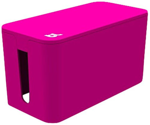 Bluelounge CableBox Mini Pink - Cable Management - Small Surge Protector Included