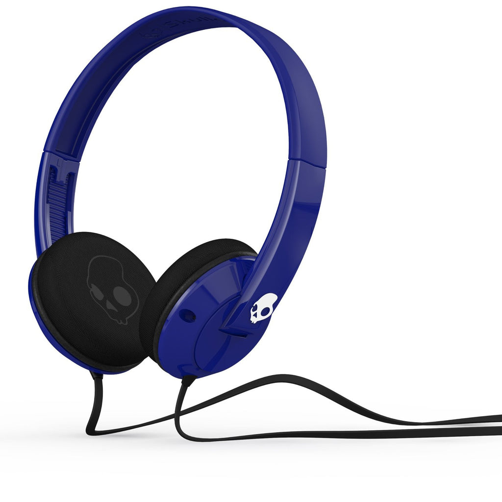 Skullcandy Uprock Royal On-Ear headset with Mic 1 for Phones - Retail Packaging - Blue/Black