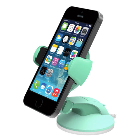 iOttie Easy Flex 3 Car Mount Holder Desk Stand for Apple iPhone 5s/5c/5/4s and Samsung Galaxy S4/S3 - Retail Packaging - Mintio