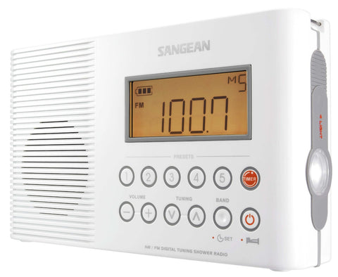 Sangean H201 AM/FM Digital Shower Radio