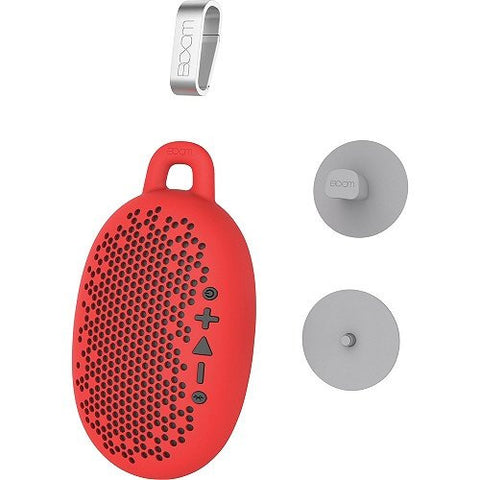 BOOM Urchin Ready 4 Anything Bluetooth Speaker (Red)