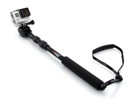 GoScope Extreme Telescoping Extension Pole for GoPro HERO Cameras 17-37""