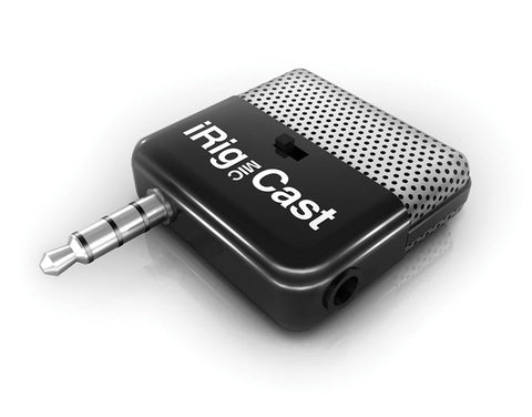 IK Multimedia Mic Cast for IOS Devices