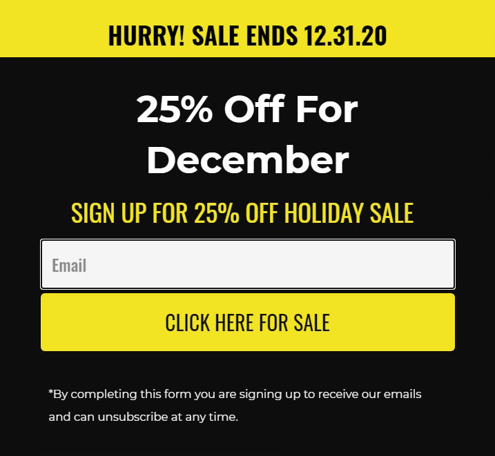 Holiday SALE...25% off of EVERYTHING
