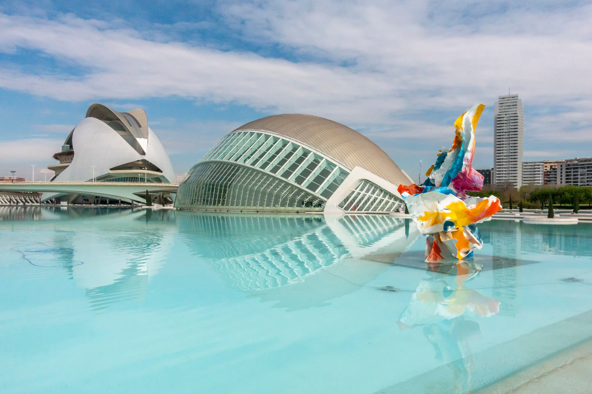 The Hemisferic, Valencia
